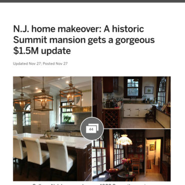 nj.com: Summit, N.J. Home Makeover