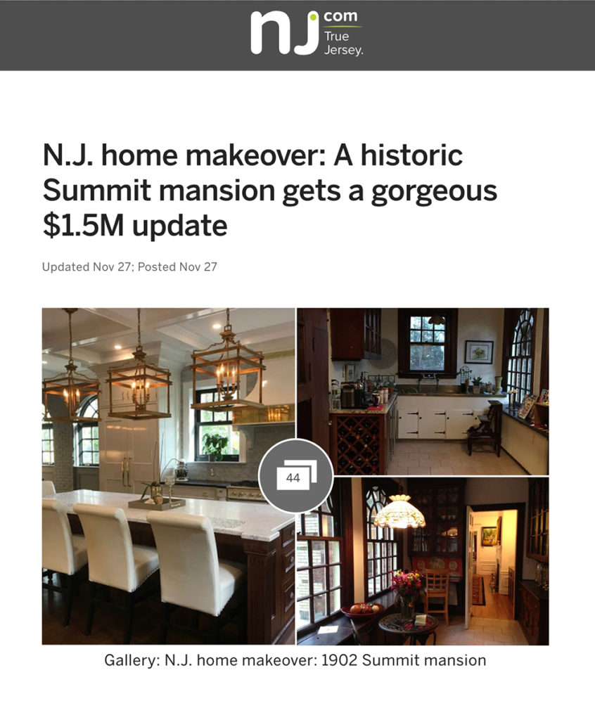 Summit NJ Home Makeover | Tom Conway, Architect